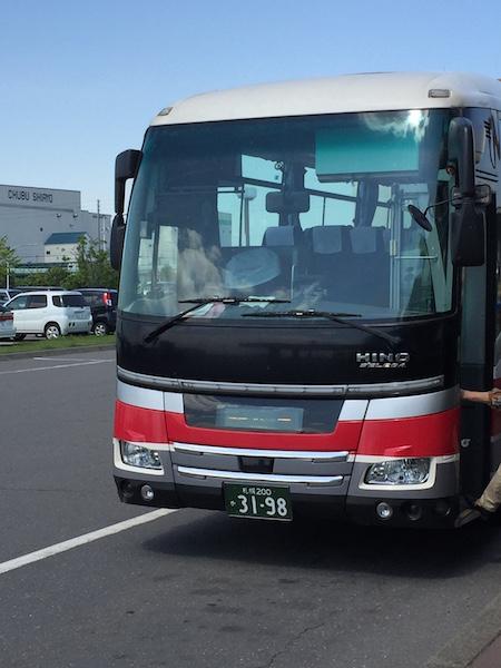 高速バス苫小牧