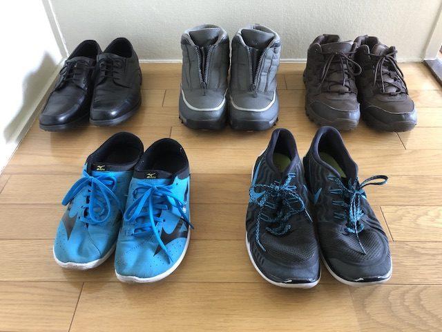 ミニマリスト男性の靴1