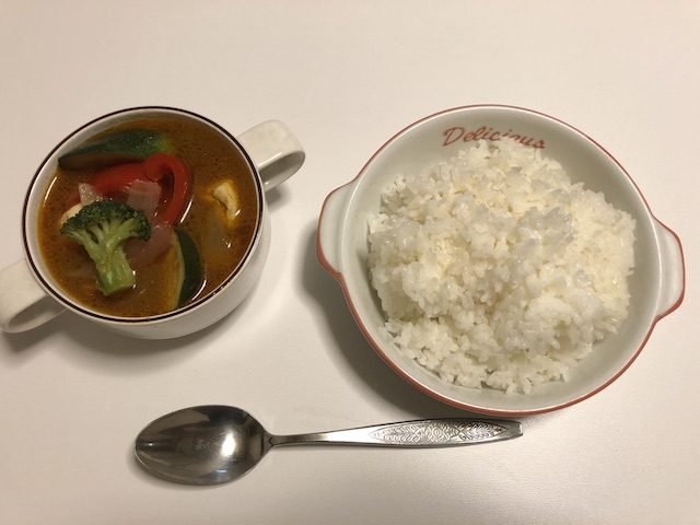 スープカレー自炊6