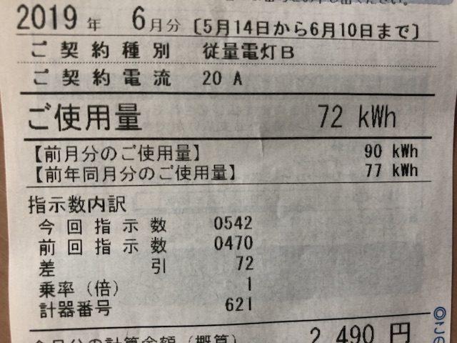 ミニマリストの電気料金節約3