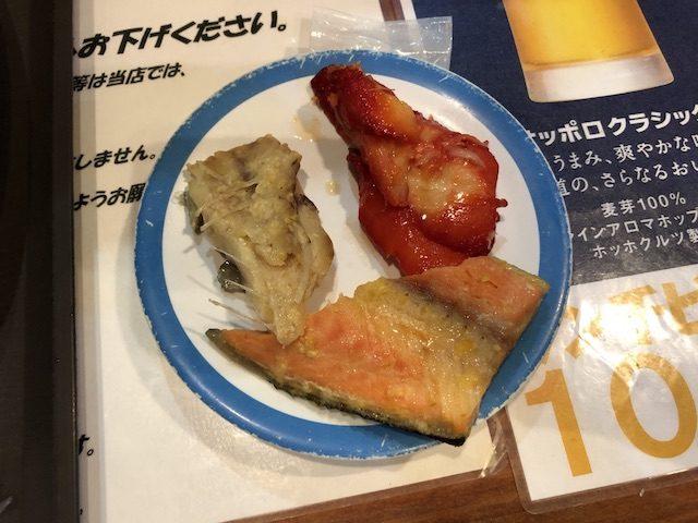 札幌すすきの魚のあんよ2