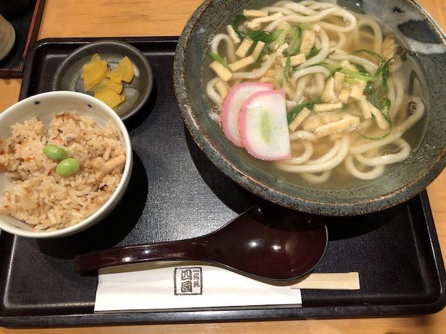 饂飩四國札幌シャンテ店10