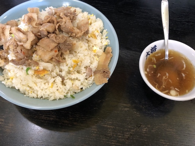ラーメン大将札幌北18条店肉チャーハン大盛5