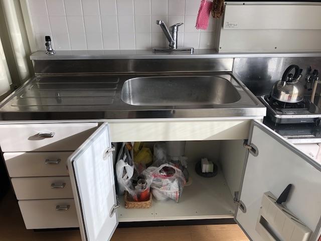一人暮らしミニマリストのキッチン1