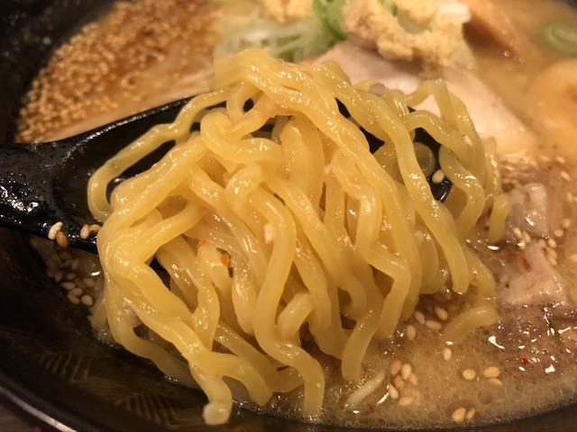 札幌真麺処幸村味噌ラーメン6