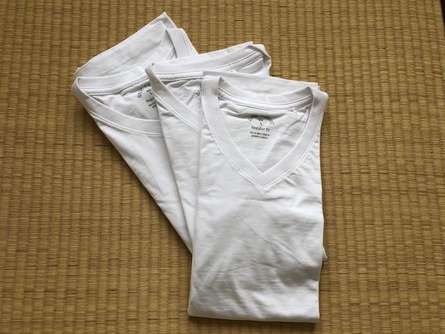 40代男性ミニマリストのTシャツ1