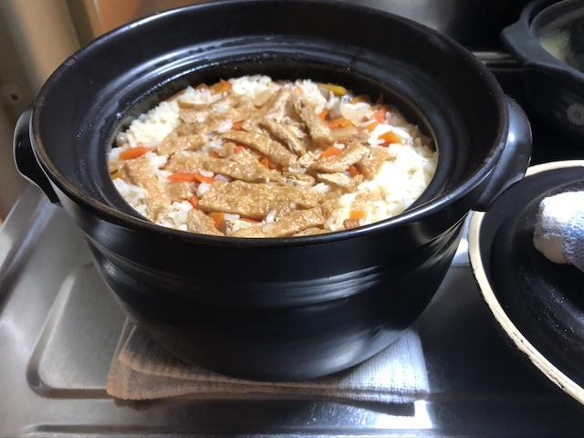 簡単炊き込みご飯4