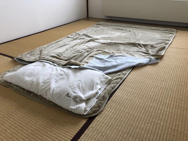 ミニマリストの寝具3