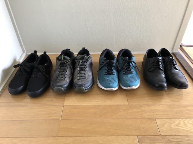 40代男性ミニマリストの靴7